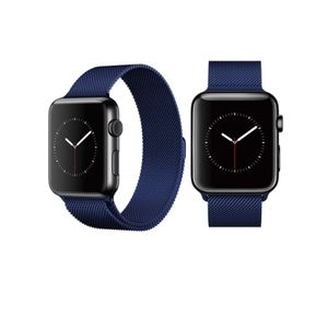 NEW Blue Milanese Apple Watch Band